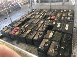 Scrap Batteries Recycled Cash Paid