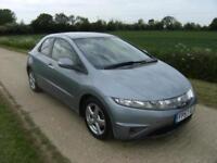 Honda Civic 1.8i-VTEC ( 17in Alloys ) i-Shift AUTOMATIC SE With 51k Miles
