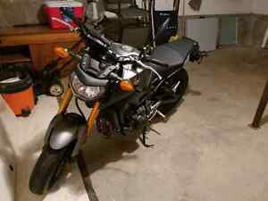2015 Yamaha FZ09 w/ custom exhaust