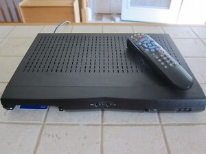 Bell 3100 Satellite receiver with card and remote