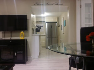 $800 1 BED Basement, NEW, FURNISHED in Markham and HWY 7