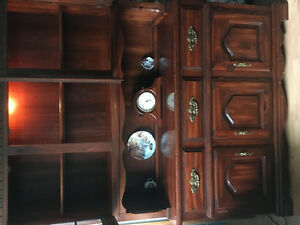 2pc China Cabinet reduced price!!