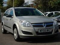 2009 Vauxhall Astra 1.8 i 16v Life 5dr Estate Petrol Automatic