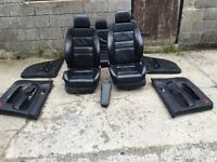 Mk4 golf 5door recaro leather seats