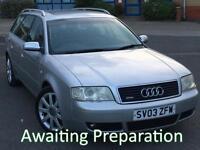 2003 (03) Audi A6 Avant 2.5TDI 180 Quattro Sport Automatic
