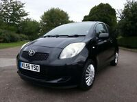 2006(56reg) Toyota Yaris 1.3 Vvt-i T3 3DR, Lady Owner past 10 Years