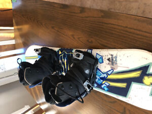 Youth snowboard, boots and bindings for sale!