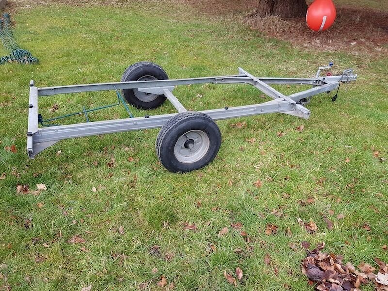 Trailer Tent Chassis Galvanised In Excellent Condition