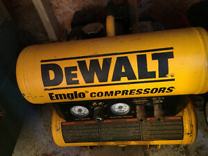 Dewalt gas compressor West Island Greater Montréal image 1