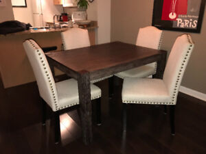 Dining table and Four Chairs Set - $100 firm