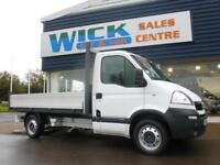 2008 Vauxhall MOVANO 3500 MWB CDTI DROPSIDE *LOW MILES* Manual Dropside