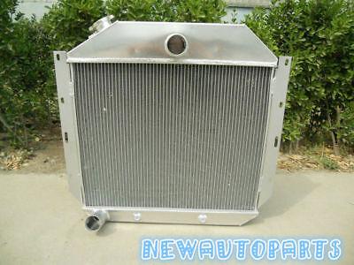 Racing Aluminum Radiator 1951-1957 For International Harvester Truck Brand New