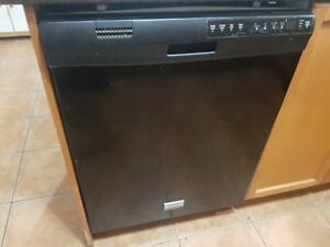 Fridgedaire Dishwasher and electricals  (black)