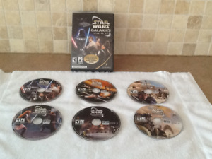 Star Wars galaxies starter kit by lucasarts and Sony. PC game