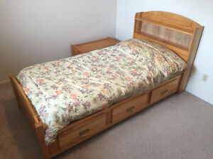 Solid Maple Mate's Bed $175.00