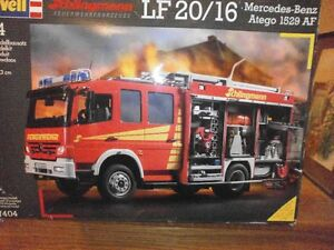Revell 1:24 scale Mercedes Fire Truck