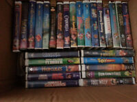 Family Movie VHS Collection