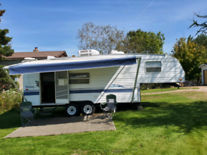 1999 25ft terry 5th wheel