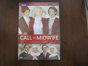 CALL THE MIDWIFE- SEASON 4 - 3 DVD'S - 8 EPISODES Mint Condition