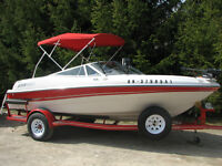 Immaculate 2002 Four Winns 180 Fish and Ski Bowrider!