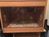 Reptile tank for sale £60