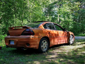 '03 grand am GT anniversary eddition as is..