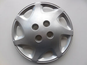 "SATURN S-SERIES 2000-2002 WHEEL COVER 14"" SILVER 21012898"