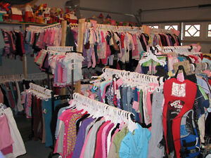 2 Pc Girls Size 4T TCP Orange & White Knit Sweater & Skirt London Ontario image 2