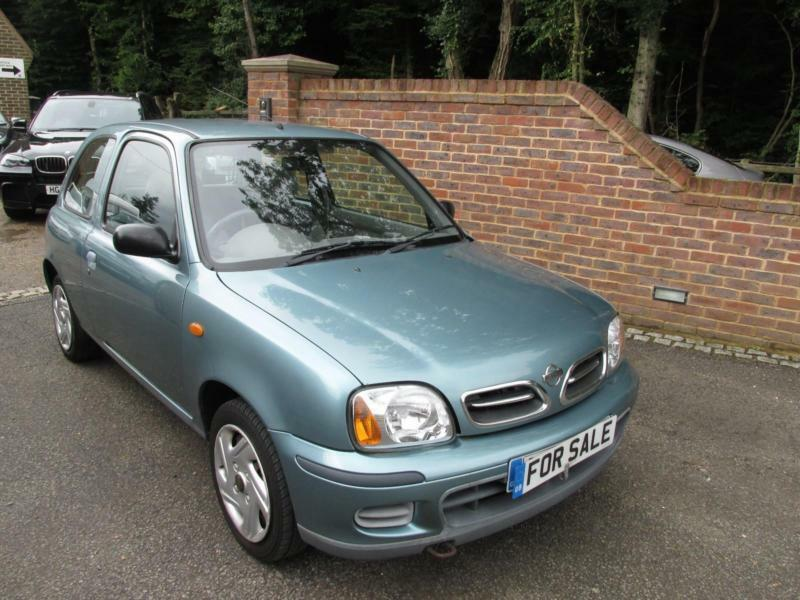 2002 02 nissan micra 1 0 s automatic just 32 000 miles in kingsnorth kent gumtree. Black Bedroom Furniture Sets. Home Design Ideas