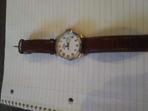 Swiss Army Watch, Nice Leather Band, Watch is Dead, REASON UNKNO