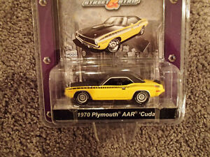 Greenlight Collectibles 1970 Plymouth AAR Cuda - Muscle Car Gara Sarnia Sarnia Area image 2