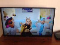 32 inch PANASONIC HD TV with FREEVIEW HD