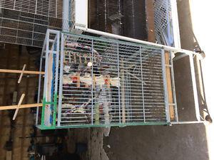 Lot de cage d oiseaux