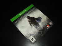 XBOX ONE-SHADOW OF MORDOR-MANUAL ONLY (NEUF/NEW)