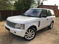 200909 LEFT HAND DRIVE LAND ROVER RANGE ROVER VOGUE SE 4.2 SUPERCHARGED WHITE