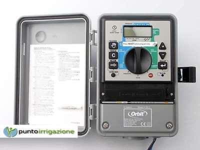 Programmer Control Unit Irrigation Orbit Super Dial Outdoor 4 Zone 94114