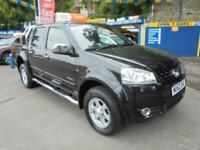 2012 62 GREAT WALL STEED 2.0 TD S 4X4 PICK UP IN BLACK # GREAT SPEC NO VAT #