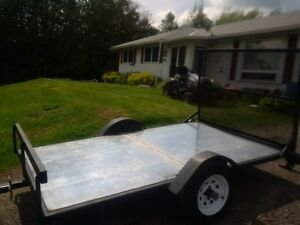 New 5 x 8 Flat bed trailer
