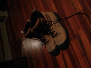 Steel capped toe boots I got from marks. Retail price $209