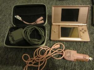 Nintendo DS with Travel Kit and Accesories and Games