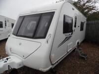 2011 COMPASS VANTAGE ADAPTABLE REAR SEATING AREA TO FIXED BED CARAVAN