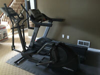 Treadmill and Elliptical $600 - Commercial Grade Gym Quality