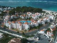 Très beau condo 3 CAC à louer sur la plage de Bavaro -Punta Cana