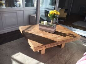 Reclaimed coffee table large
