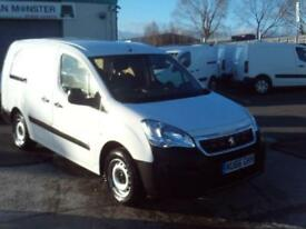 Peugeot Partner 715 S 1.6HDI 100ps Crew Van DIESEL MANUAL WHITE (2016)