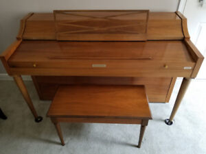 Baldwin Piano and Bench for sale
