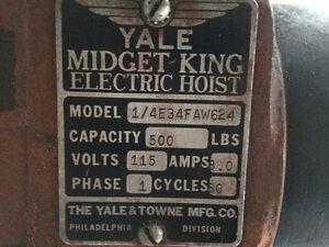 Vintage> Yale Midget King Electric Hoist < 1/4 Ton> 500lb Regina Regina Area image 7