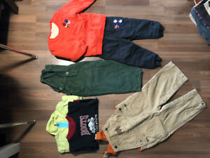 Fall and winter clothes for boys