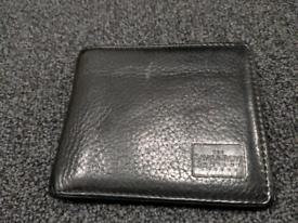 Savile Row London black leather wallet