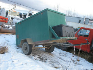 3 Small trailers